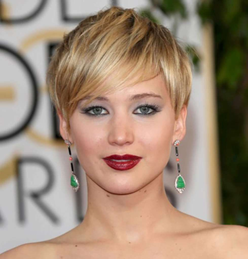 Short hairstyles for round faces hair styles pinterest