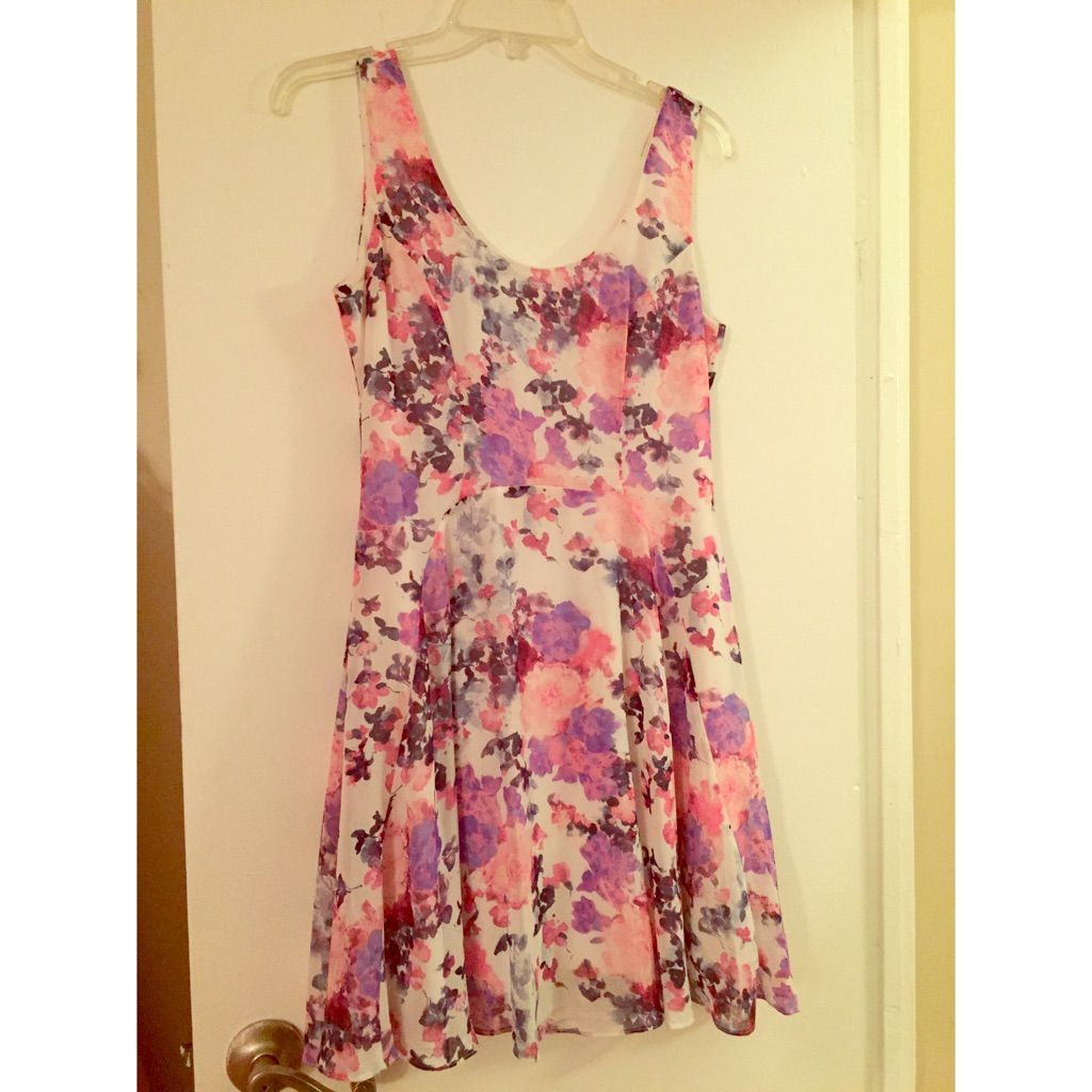 Soprano Floral Mini Dress