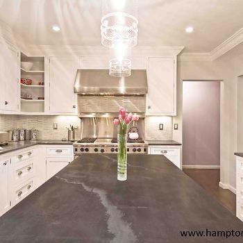 Jet Mist Honed Black Granite Kitchen Countertops Honed Granite