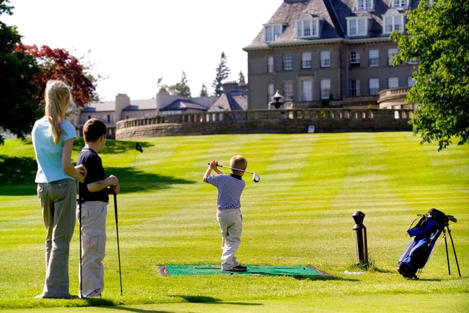 Children's Golf at the Gleneagles in Scotland