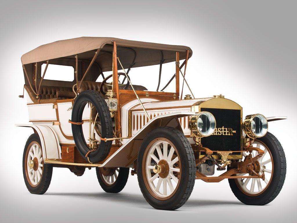 1909 Austin Model 60 Touring Car - The Austin was a brass era ...