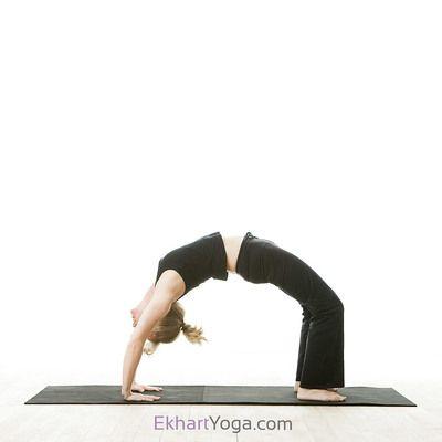 Yoga pose: Upward Bow Pose or Wheel Pose/Urdhva Dhanurasana