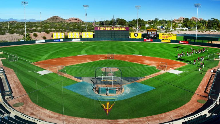 Bluemedia With Images Baseball Field Baseball Park Baseball