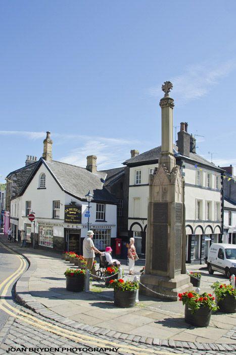 Market Cross Ulverston Cumbria Cumbria England Scotland