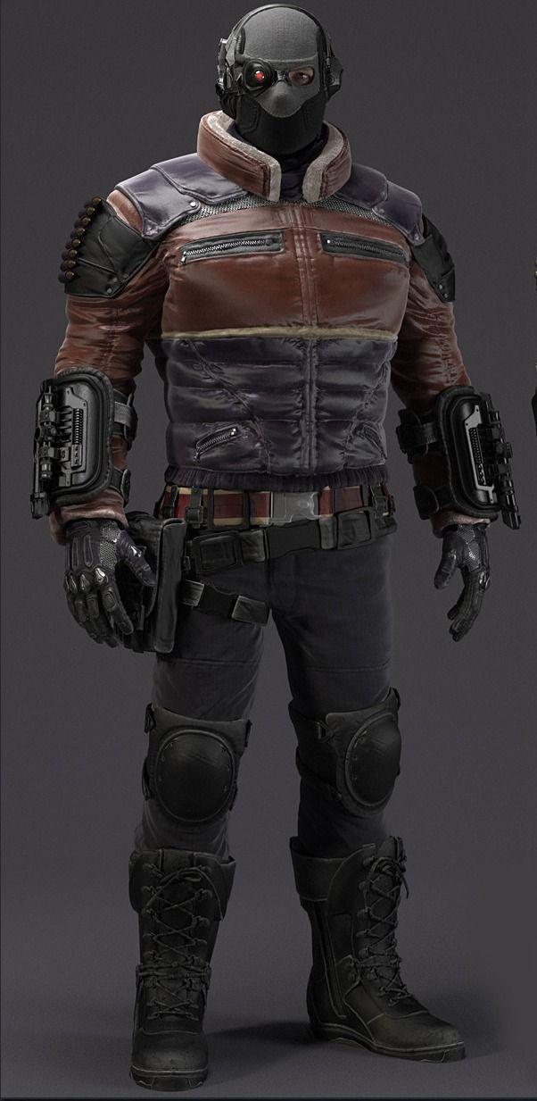 Deadshot Redesign Deadshot : Arkham Orig...