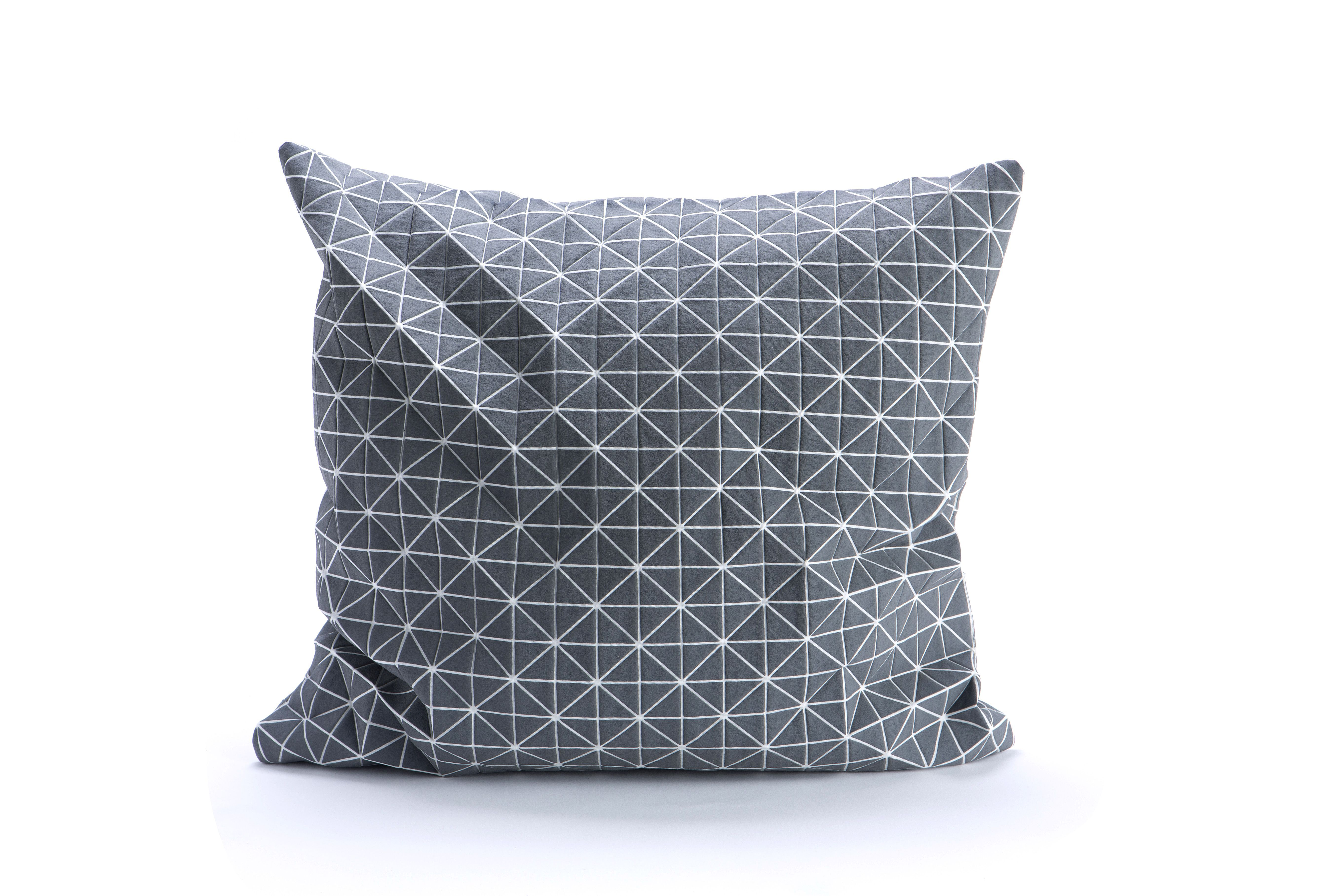 Geo origami cushion cover by mikabarr architecture u interiors