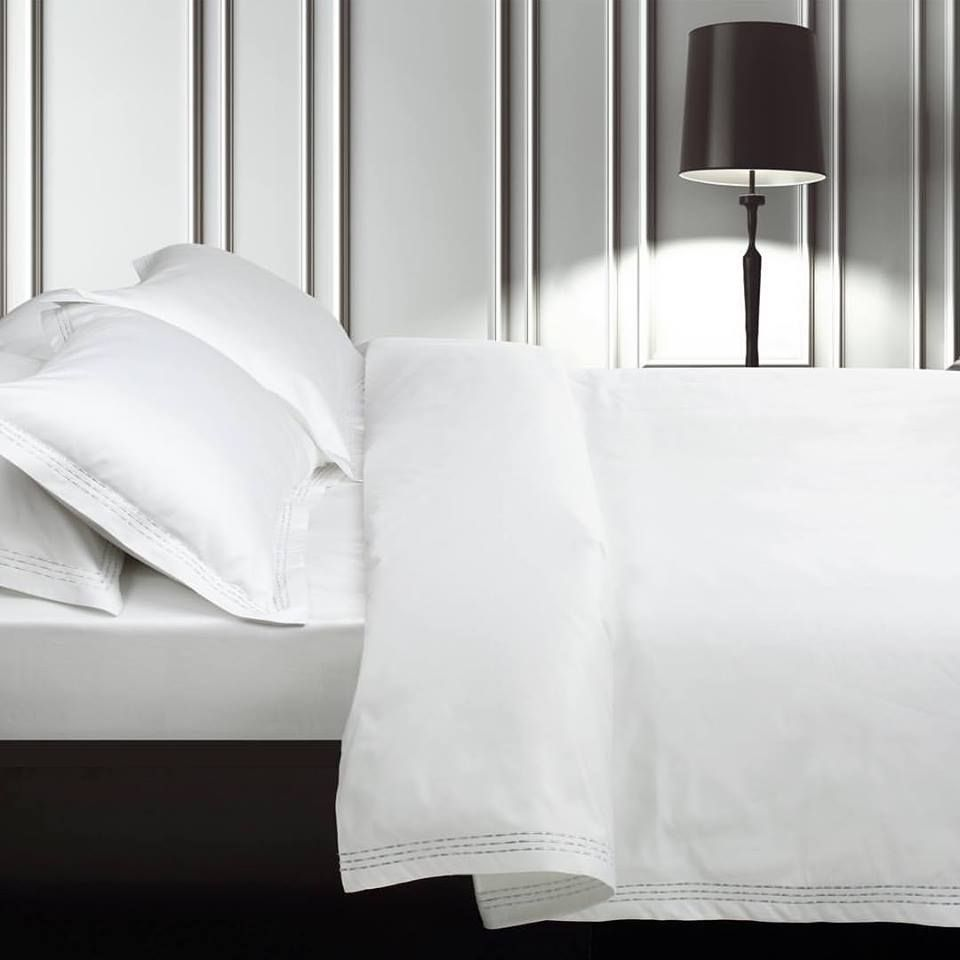 Minimalistic design with a luxurious touch. St. Pierre's Alta Platinum duvet cover set are what dreams are made of. Available now at David's Fine Linens by The St. Pierre Home Fashion Collection. #TheStPierreHomeFashionCollection #Luxurylifestyle #home #deco #inspiration #luxurylinens#bestoftheday #interiordesign #homedecor #beautiful #europeandesign #bed #sleep#availableatDavidsFineLinens#BayviewVillageShoppingCentre#RenaissancePlazawoodbridge#shoponline#www.davidsfinelinens.com…#:)