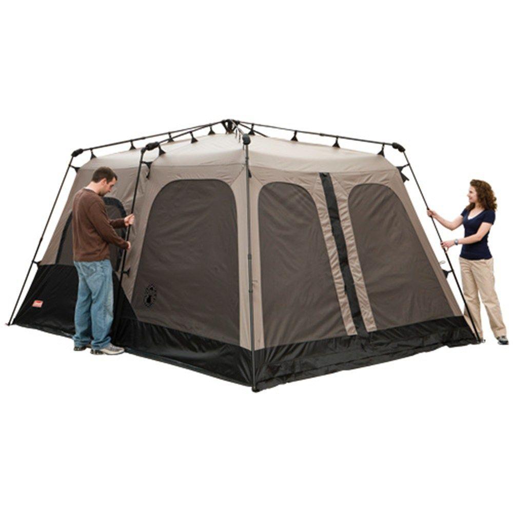 Coleman® 8-Person Instant Tent 14 x 8 footprint u0026 6u00274   sc 1 st  Pinterest & Coleman® 8-Person Instant Tent 14 x 8 footprint u0026 6u00274