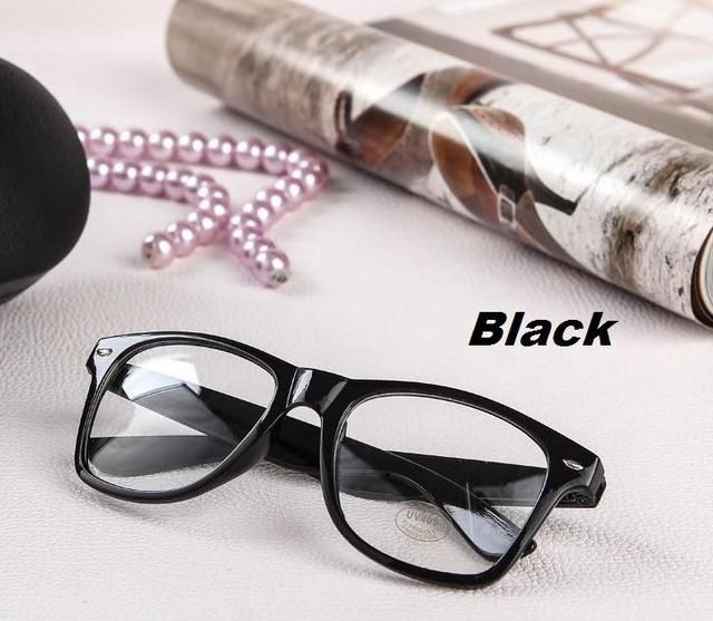 M84 New Fashion Eyeglass Frame Vintage Transparent Glasses Casual Eye Wear Retro  UV400 Plain Lens Optic for Women Girls 10ed607e05