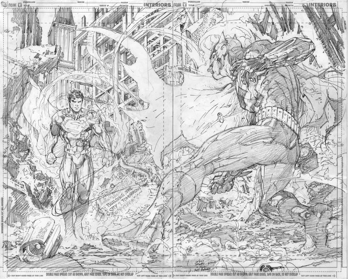 Justice League 2 Page 2 3 Jim Lee Art Book Illustration Art Jim Lee
