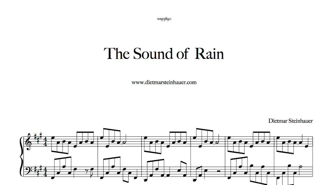 The Sound Of The Summer Rain Summer Rain Rain Sound Of Rain