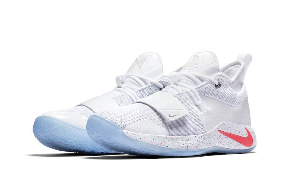 126a391d45bf Paul George x Nike White Playstation PG 2.5 Release kicks footwear sneakers  gaming sony