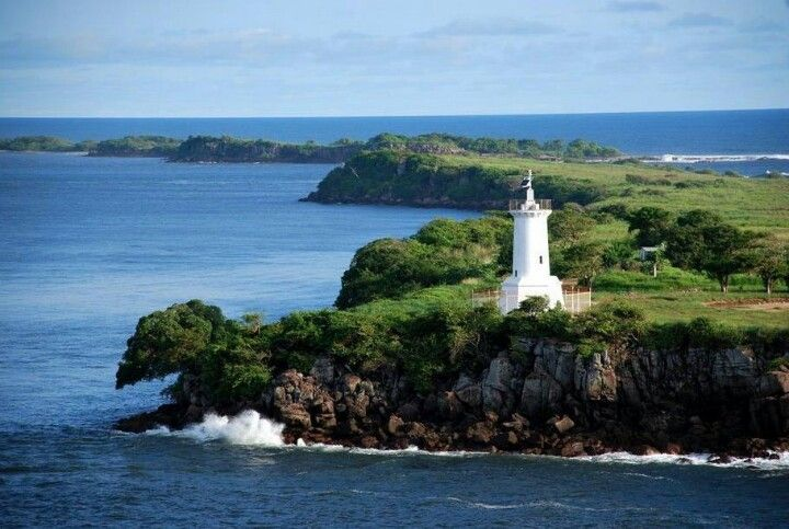 Lighthouse, Corinto - Nicaragua... My dad's hometown spent many summers here   ..rh