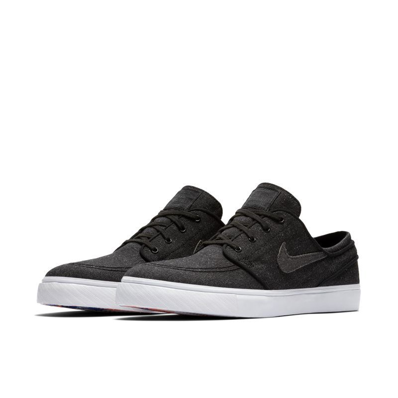 04e0f2ce8f80 Nike SB Zoom Stefan Janoski Canvas Deconstructed Men s Skateboarding Shoe -  Black