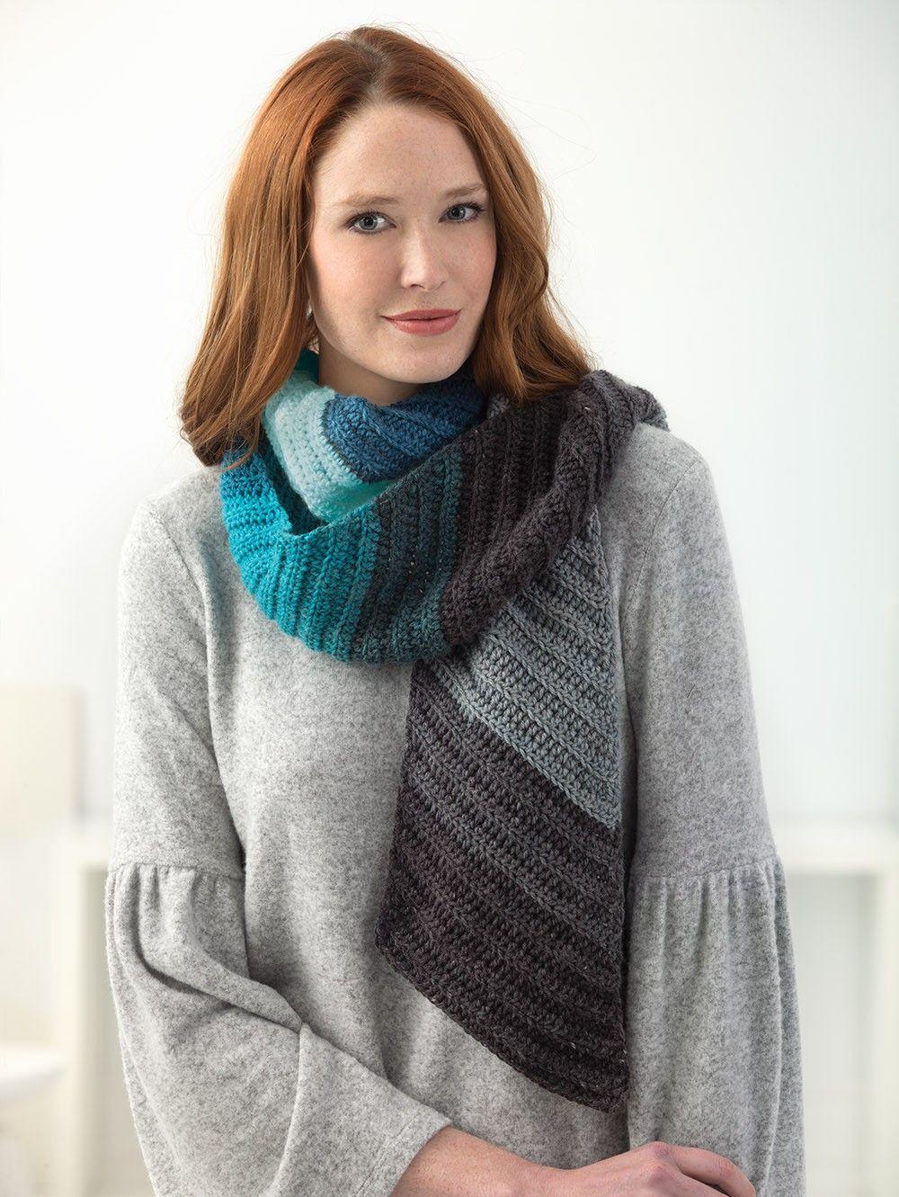Shaded Diagonal Scarf Crochet Out Of Stock Eta January 2018