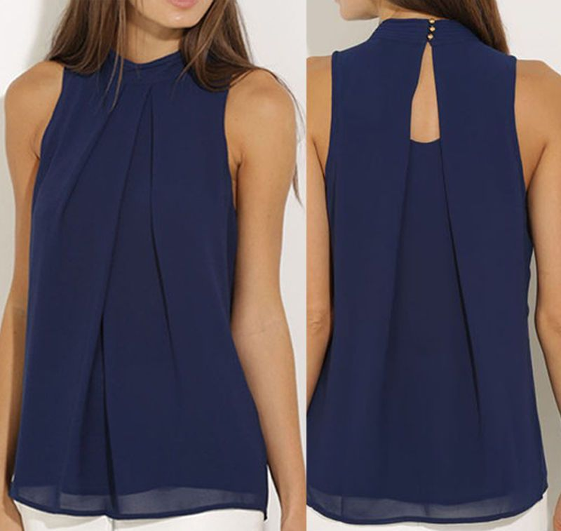 990d35bf71ec Fashion Women Summer Vest Top Sleeveless Shirt Blouse Casual Tank Tops T  Shirt
