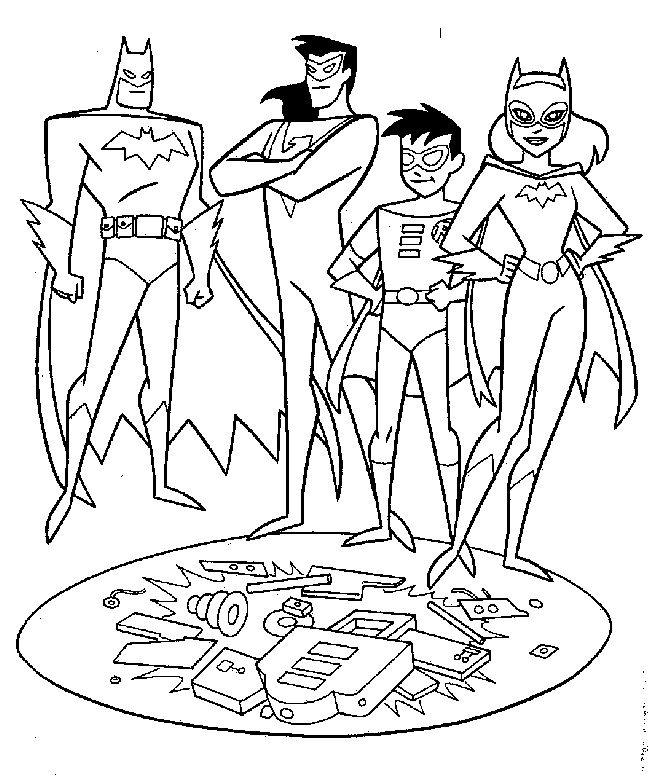 batman dessin à colorier et imprimer | Batman coloring pages, Coloring pages, Batman