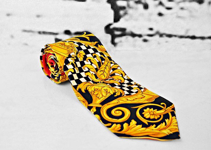 23cf7253f194 Alfa img - Showing > Gianni Versace Ties Collection   Desmond ...