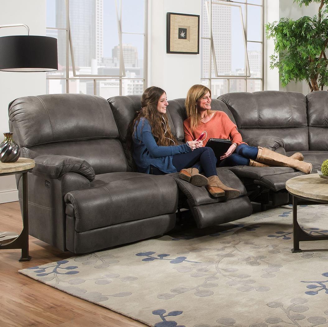 York Triple Reclining Sofa By Franklin