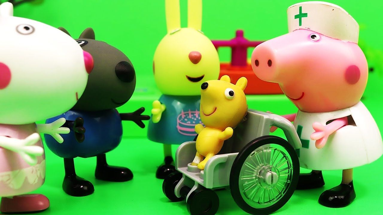 Nurse Peppa Pig Helps Teddy Https Www Youtube Com Watch V Hgdge1iwa5s List Plcytmh8qnp Rmyk9vkg9wwcitzeabu0 2 Peppapig Peppa Pig Toys Peppa Pig Cartoon Kids [ 720 x 1280 Pixel ]