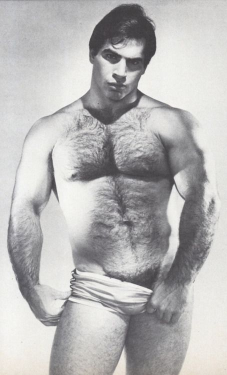 Idea and vintage hot hairy men