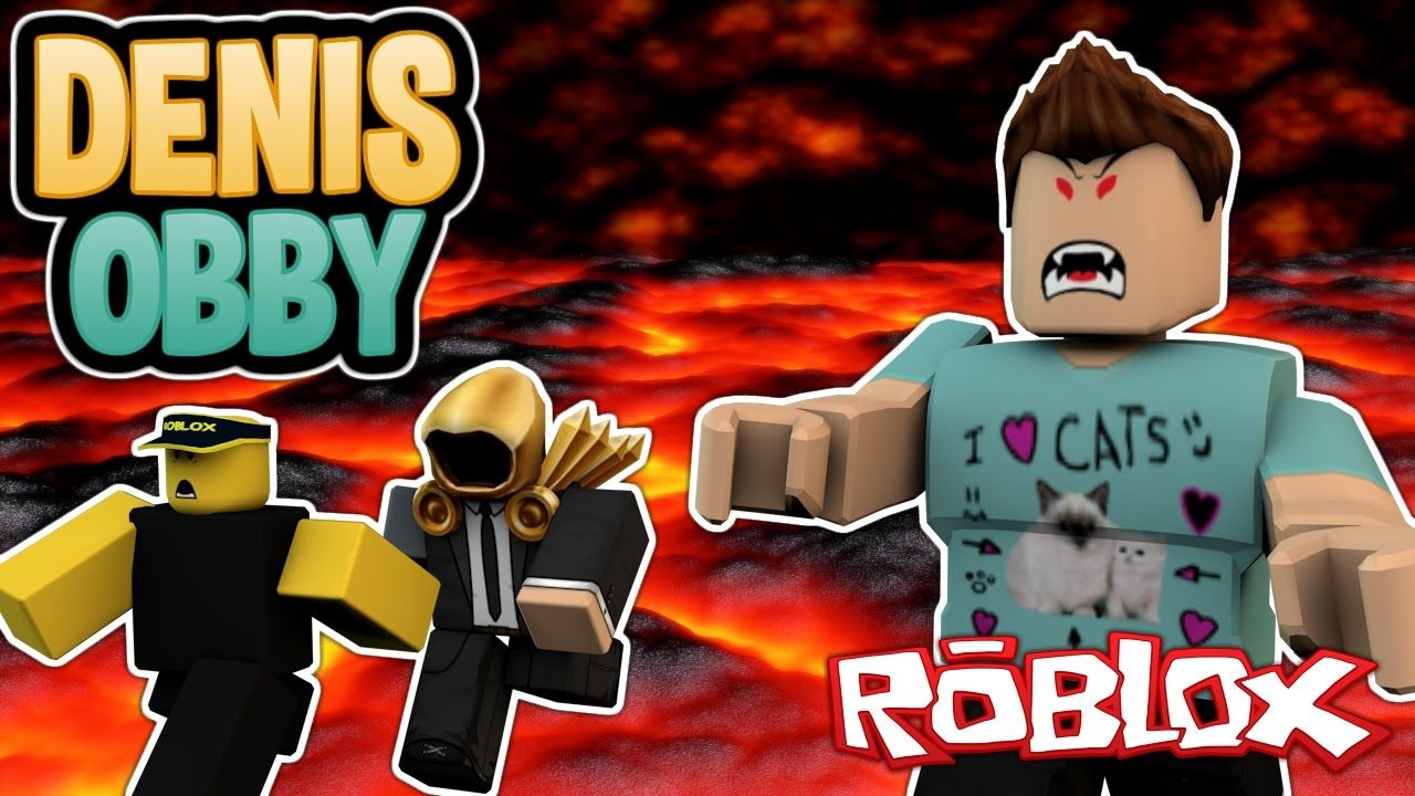 Escaping From Evil Denis Denisdaily Obby Roblox Evil