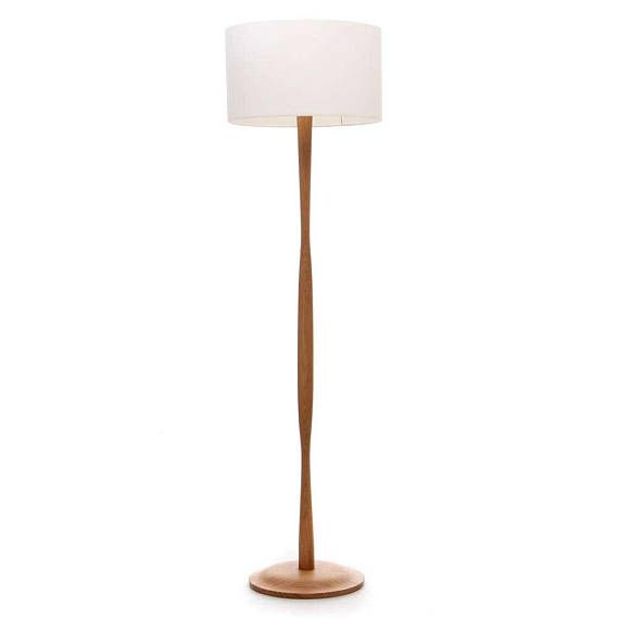 Oak Floor Lamp Ships Worldwide Wooden Floor Lamp Simple Wave Floor Lamp Standard Lamp Folds Down For Shipping Wooden Floor Lamps Standard Lamps Floor Lamp