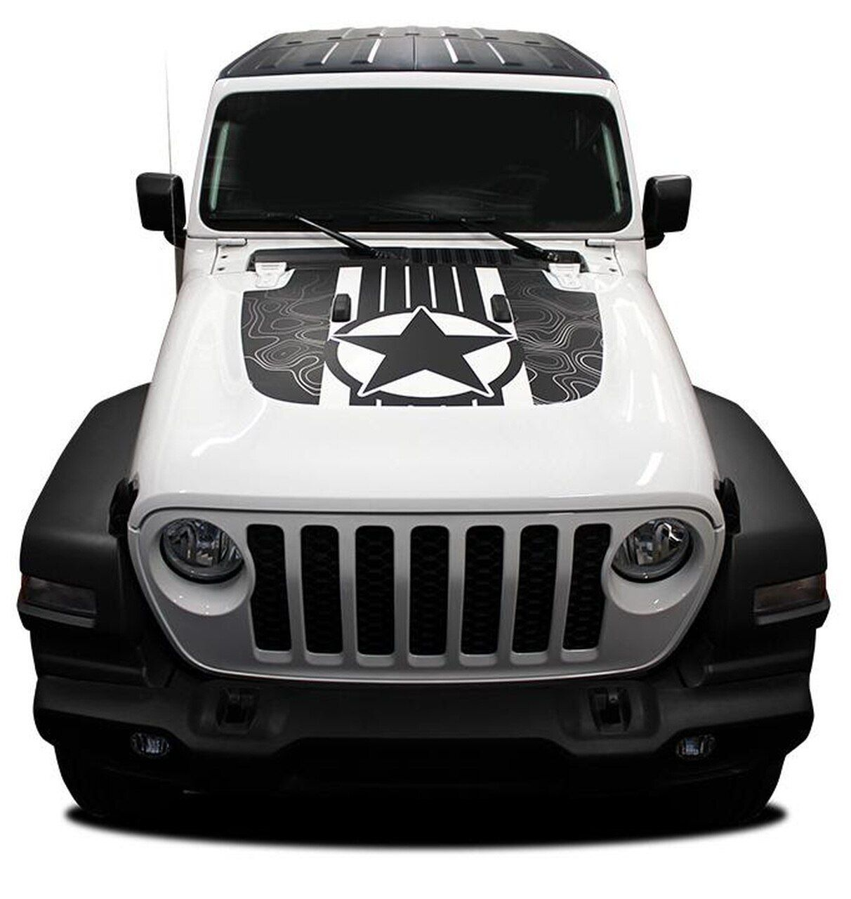 2020 Jeep Wrangler Hood Decals Journey Hood Jl 2018 2020 Digital