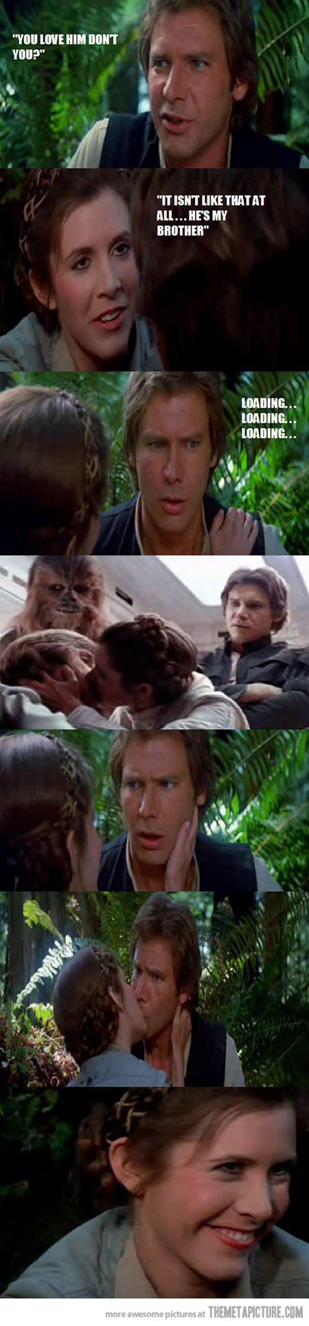 Solo S Sudden Realization Star Wars Memes Star Wars Humor Funny Star Wars Memes