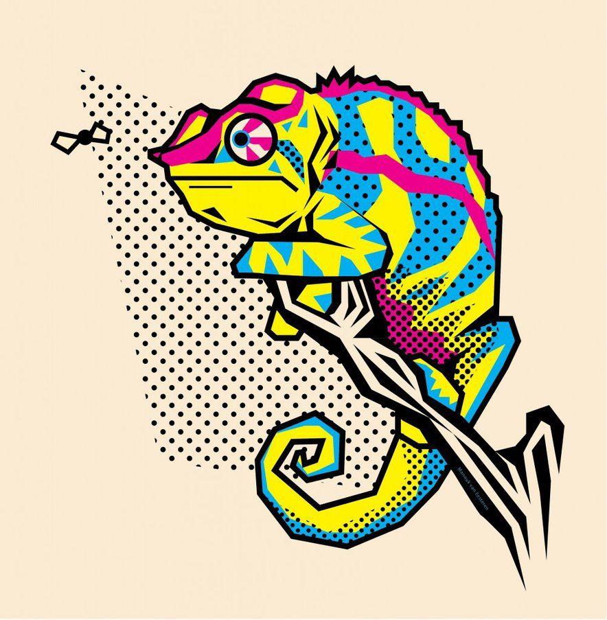 Chameleon Template Google Search Art T Chameleons