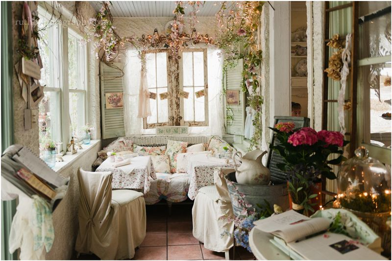 The Garden Gate Tearoom Mount Dora Florida Shabbychic Tearoom