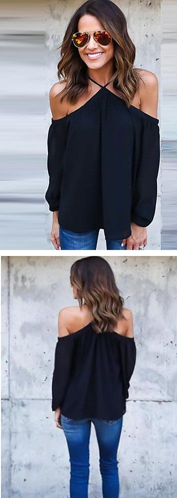 You gotta love off-shoulder blouses! Perfect to wear in your next holiday destination! Click for more info.  Enjoy up to 90% OFF until December 9th.