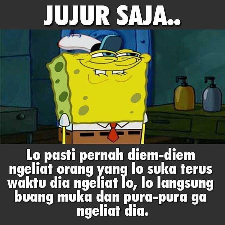 Kiriman Instagram Oleh Meme Spongebob Indonesia 9 Nov 2018 Jam 5