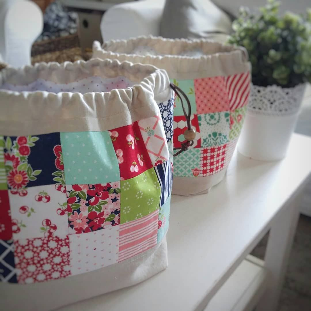 Finch Bucket Bag Quilted Bag Bags Fabric