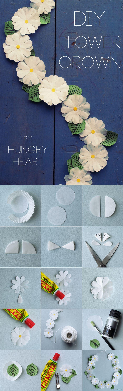 Diy paper flower crown step by step tutorial hungryheart diy diy paper flower crown step by step tutorial hungryheart izmirmasajfo