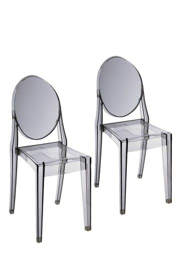 Phantom Dining Chair Clear Set Of 2 Dining Chairs Chair Home Decor