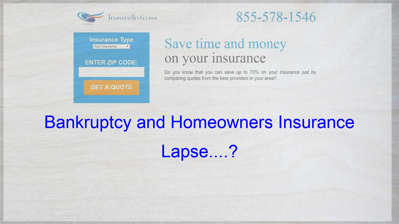 Going Through Bankruptcy My Question Stems From A Fire We Had At