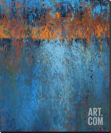Fire & Water II Stretched Canvas Print by Jeannie Sellmer at Art.com