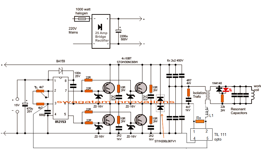 IGBT induction heater with current limit in 2019 | Induction ... on ccfl inverter schematic, pulse induction metal detector schematic, induction generator schematic, homemade plasma cutter schematic, induction diagram, h bridge schematic, induction heating, induction motor schematic, shunt schematic, electronic speed control schematic, simple heating circuit schematic, phase converter schematic, igbt schematic, zvs driver schematic, electric motor schematic,