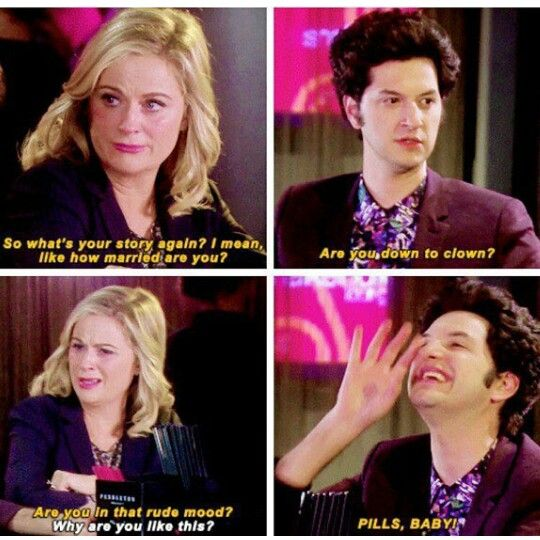 Parks And Recreation. Leslie Knope. jean Ralphio