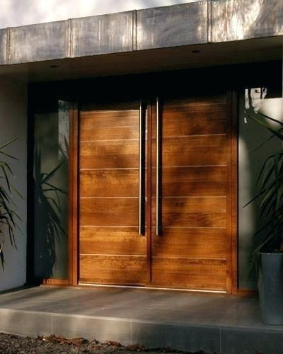 Modern Double Doors Exterior Front Urban Contemporary Configurations