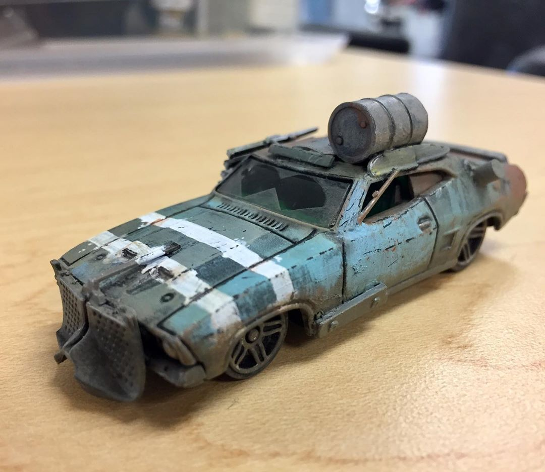 Calling This One Done And Getting A Start On The Next Car Gaslands Gaslandscars Gaslandsgame Miniaturegaming Miniatur In 2020 Car Max Custom Hot Wheels Hot Cars