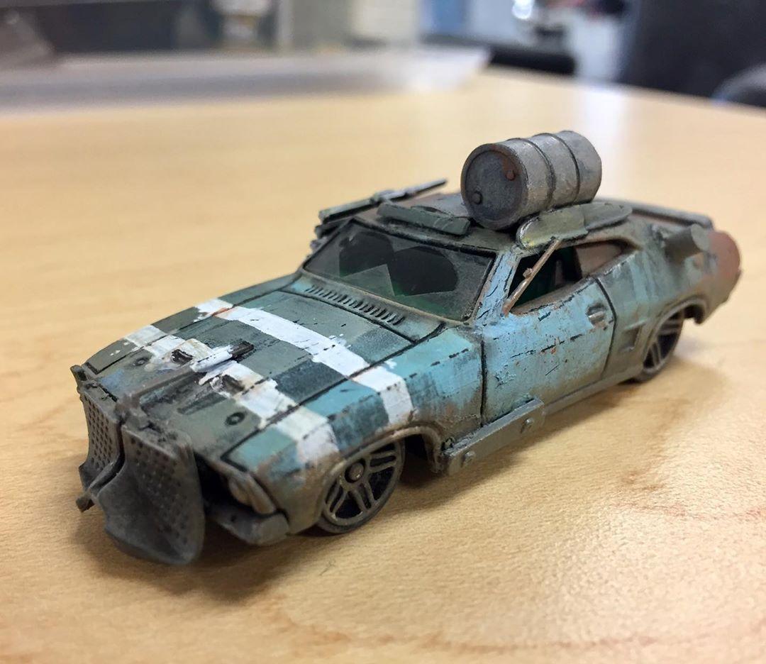 Calling This One Done And Getting A Start On The Next Car Gaslands Gaslandscars Gaslandsgame Miniaturegaming Miniatur In 2020 Car Max Custom Hot Wheels Hot Cars