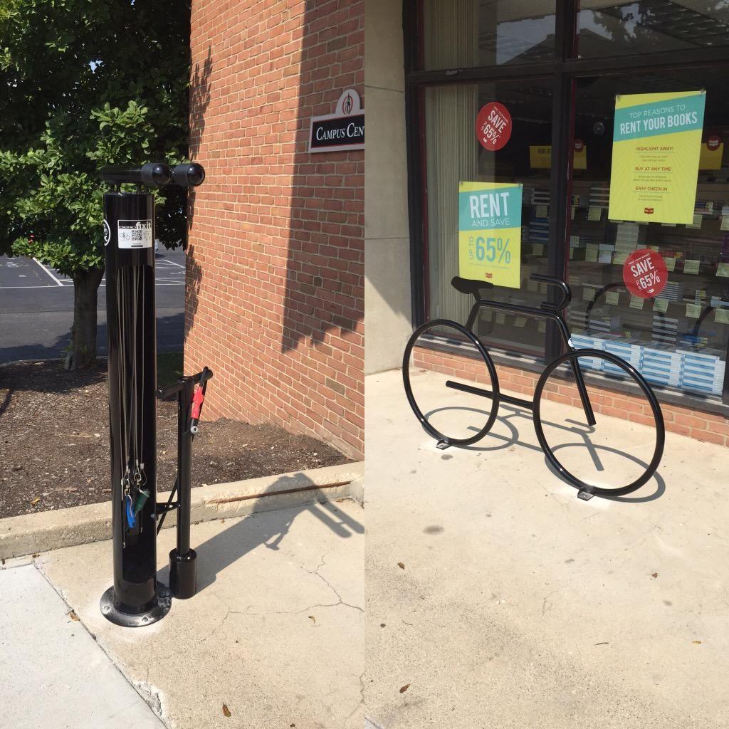 Otterbeincsi On Dero Fixit Public Bike Repair Station