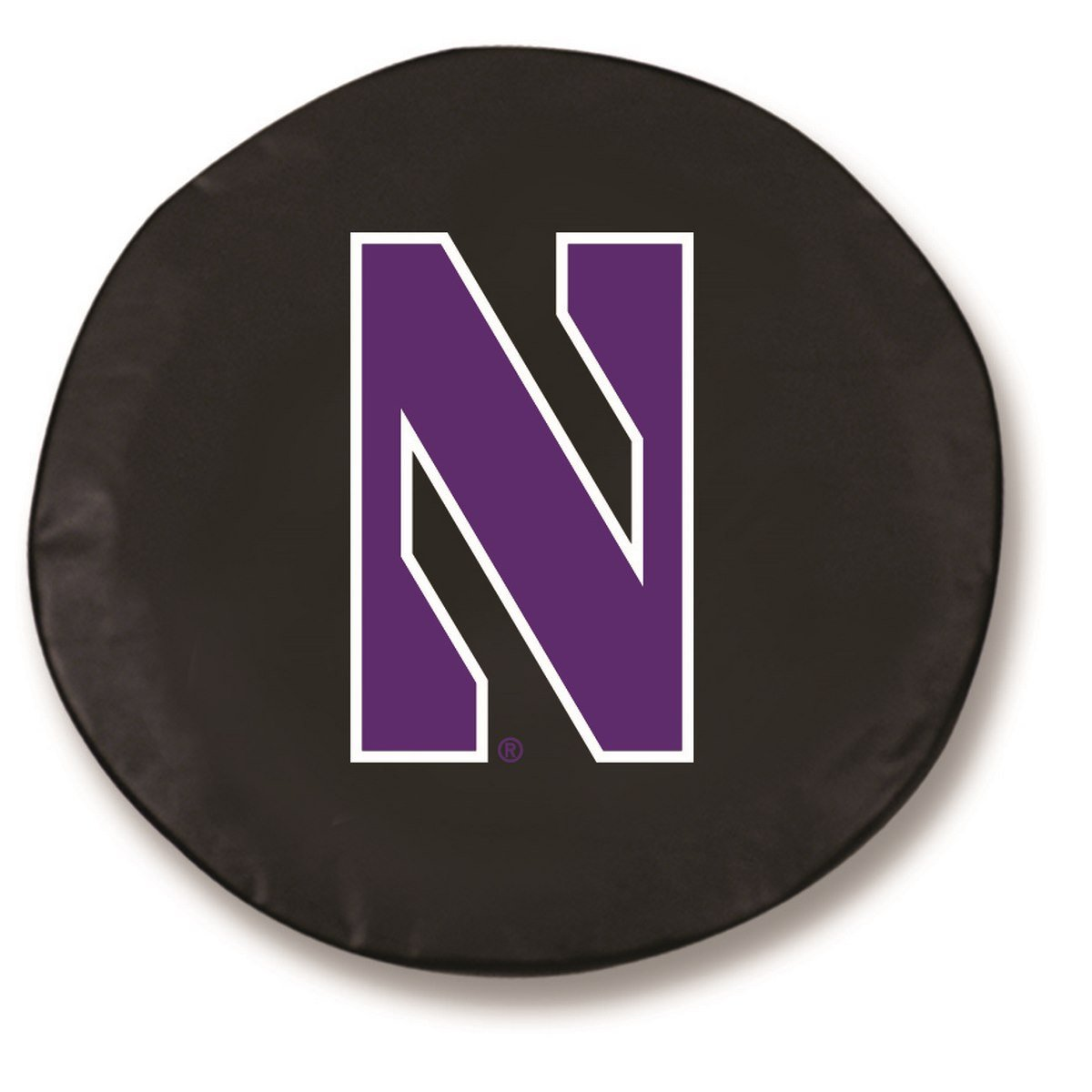Northwestern Wildcats Hbs Black Vinyl Fitted Spare Car Tire Cover Wheel Cover Spare Tire Covers Holland Bar Stool