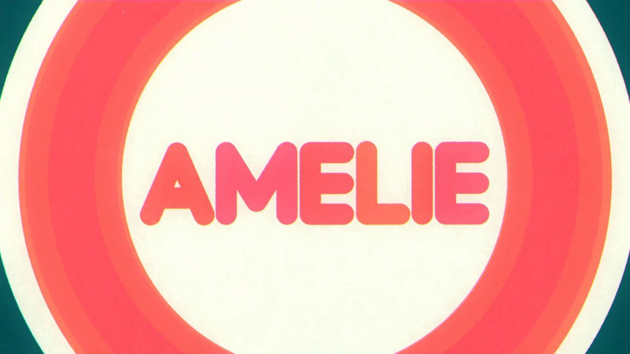 Shabello Animated Typo Amelie Calligraphy Signage Lettering