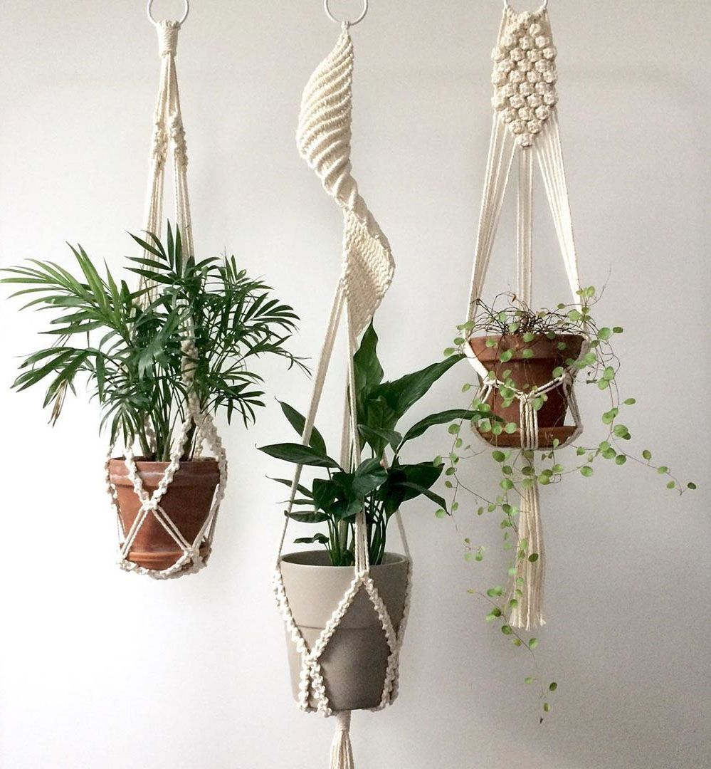 66 easy diy macrame plant hanger make house smell great