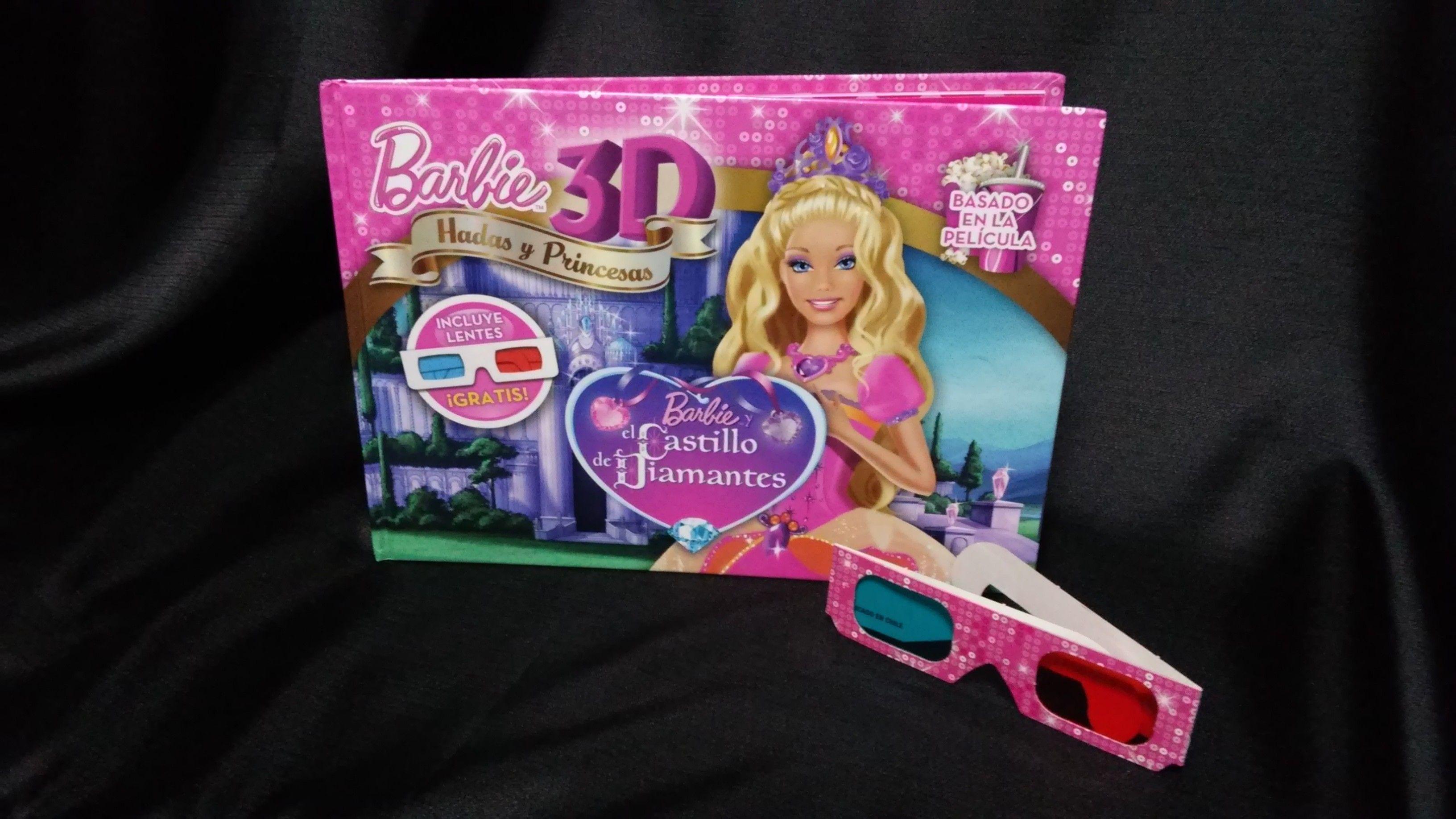 El Castillo De Diamantes | Barbie - Libros [Hadas Y Princesas 3D ...