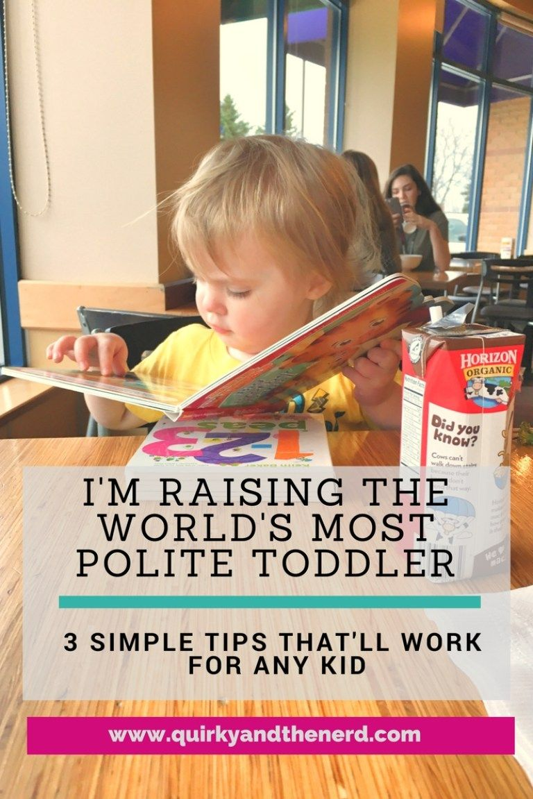 How I'm Raising the Most Polite Toddler Ever Kids