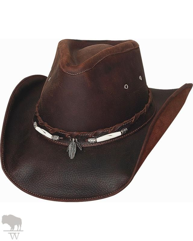 Treat your cowboy to a premium hat from Bullhide by Montecarlo Hat Company!  - Men s Briscoe Leather Cowboy Hat by Bullhide. 0bc9262dbfb6